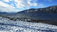 雪山风景视频素材