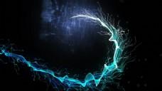 粒子路径生长展示
