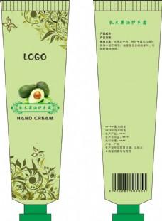 护手霜瓶装包装设计