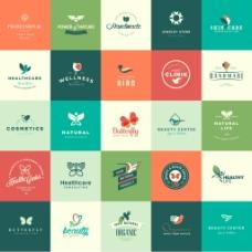 环保形象企业餐饮行业logo