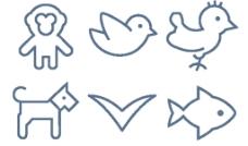 动物小图标