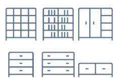 家具线条小图标