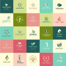 多边形环保企业餐饮行业logo