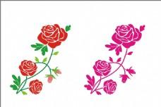 玫瑰花 素材