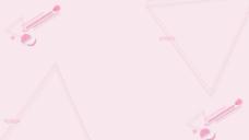 浪漫粉色线条背景