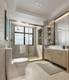 浴室室内设计图