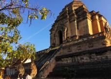 泰国清迈契迪龙寺