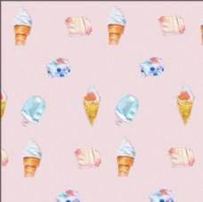 卡通甜点冰淇淋花版