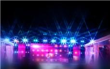 舞台灯光效果