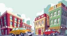 城市公共道路交通插图
