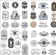 复古礼服订制标志商标