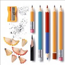写实风格削笔刀铅笔