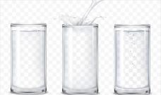 写实风格的水杯