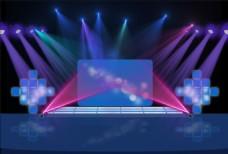 聚光灯舞台背景设计
