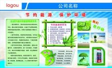 节约能源 保护环境展板图片素材