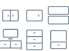 电视电脑线条小图标