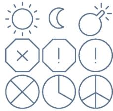 线条太阳小图标