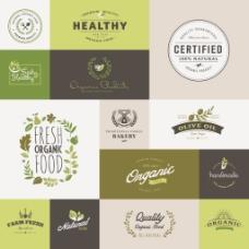 常用环保餐饮行业logo