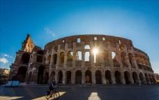 古罗马竞技场照片