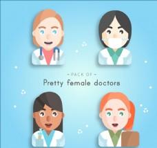 快乐的女医生角色