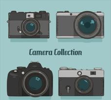 优雅的老式相机插图