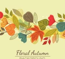 秋天唯美背景