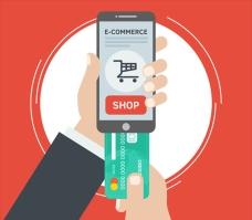 手机网络用信用卡购物插图
