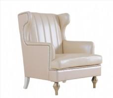 白色沙发 家具 抠图 高清