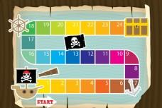 海盗船长 跳跳棋盘