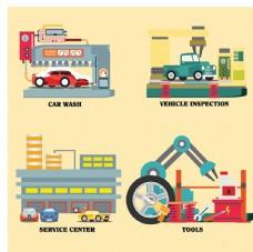 汽车维修设计图