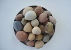 一盘鹅卵石