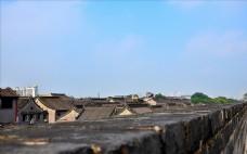 西安城墙古建筑