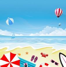 海洋沙滩素材