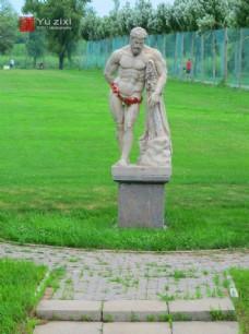 哈尔滨伏尔加庄园雕塑