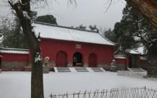 会善寺雪景