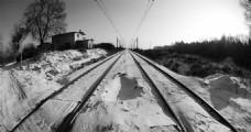 冬天的铁路
