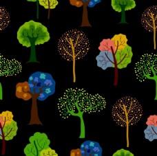 树木树苗矢量素材