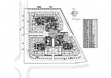 CAD环境景观乔木配植图纸