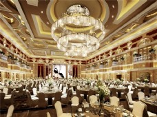酒店宴会厅效果图