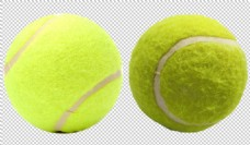 绿色网球免抠png透明图层素材