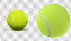 绿色的网球免抠png透明图层素材