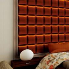 棕色卧室墙壁模型