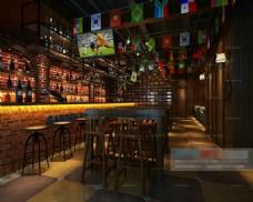 3D酒吧模型下载
