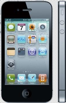 苹果智能手机免抠png透明图层素材
