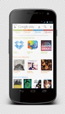 智能手机贴图免抠png透明图层素材