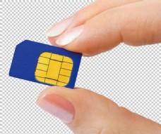 手机卡海报免抠png透明图层素材
