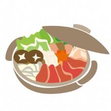 砂锅免抠图素材