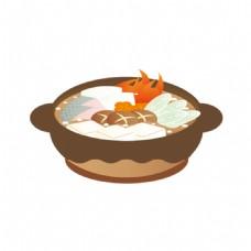 砂锅麻辣烫元素素材