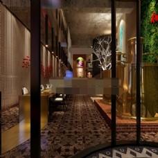 高端茶餐厅模型