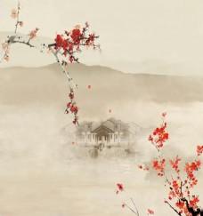 梅花背景墙